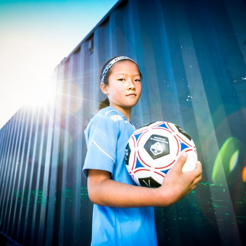 Mila - urban soccer park player