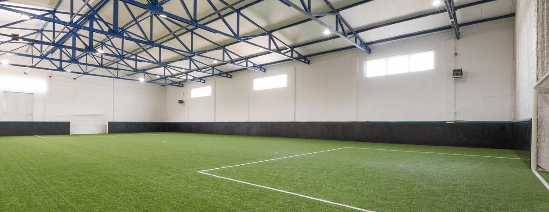 Indoor soccer park