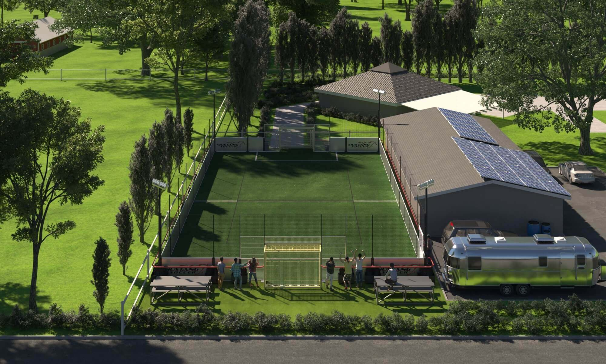 Backyard Soccer Field: The Ideal Way to Construct One
